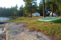 Muskoka Lakeside Resort Canoe