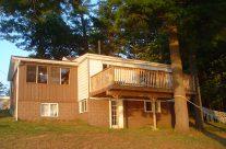 Muskoka Lakeside Resort Cottage Front