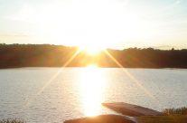 Muskoka Lakeside Resort Sunset Dock