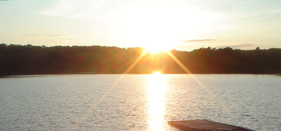 Muskoka Lakeside Resort Sunset