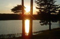 Muskoka Lakeside Resort Sunset View